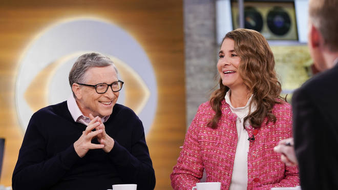 Mr Gates (L) is planning to dedicate more time to his foundation along with his wife Melinda (R)
