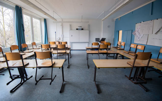 Schools across Europe are slowly closing down