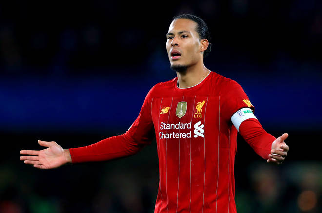 Virgil Van Dijk fears Liverpool will have to lift the Premier League trophy in an empty stadium