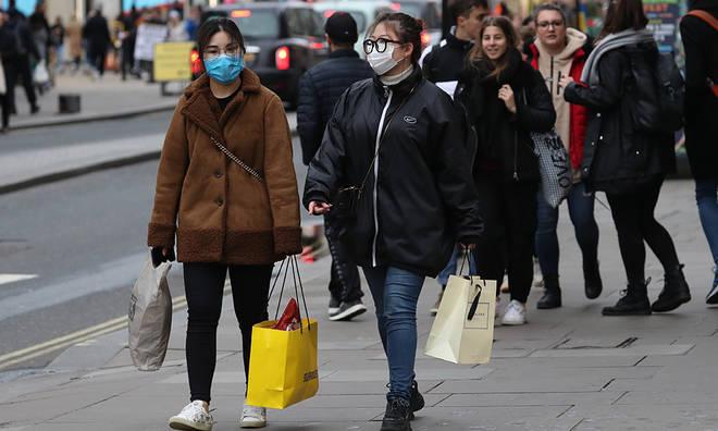 Coronavirus cases in the UK are increasing daily