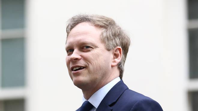 Transport Secretary Grant Shapps spoke to LBC's Nick Ferrari