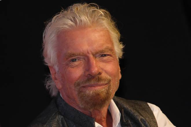 Richard Branson majority-owns Virgin Atlantic