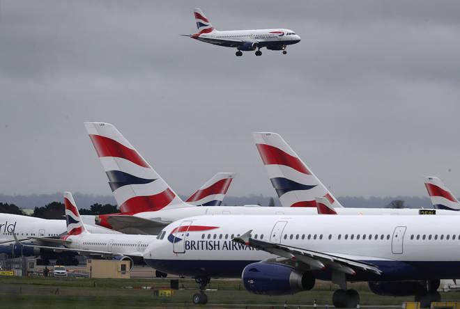 British Airways is also reducing its flight capacity