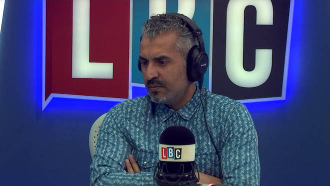 Maajid asked is the caller was worried about the future of the transgender movement