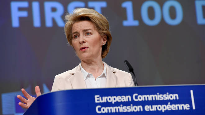 President of the European Commission Ursula Von Der Leyen proposed the ban on Monday