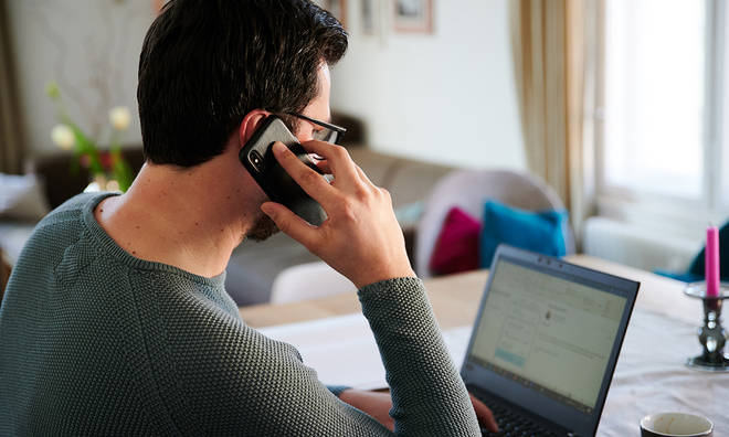 Coronavirus has seen thousands of people asked to work from home
