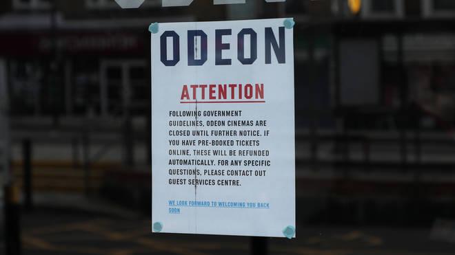 Odeon has shut all its UK cinemas