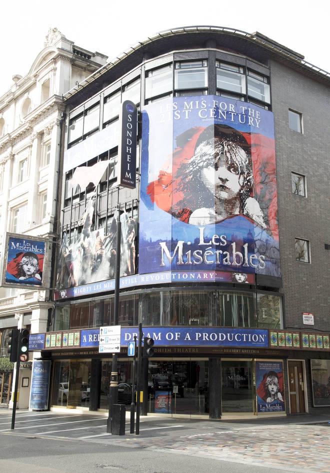 West End theatres have shut