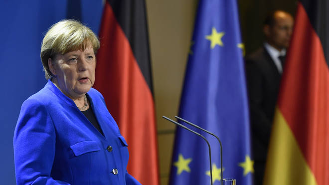 German Chancellor Angela Merkel said citizens of Switzerland, Liechtenstein, the United Kingdom and Norway are exempt.