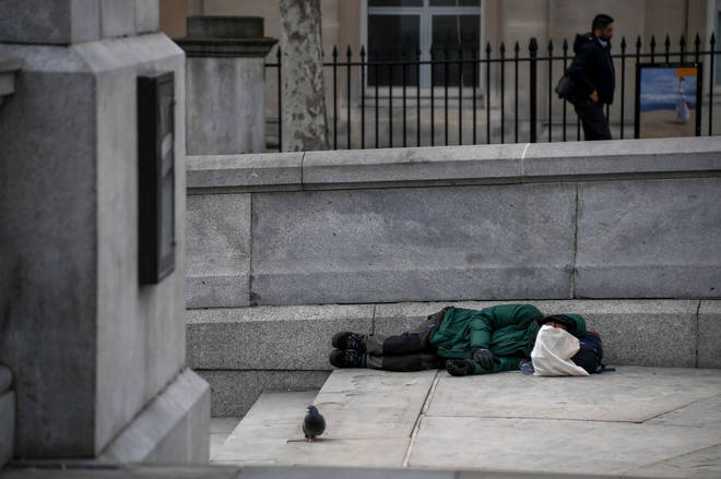 Charities are saying homeless people need to be protected during the outbreak