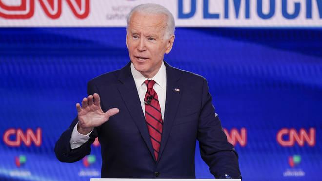 Joe Biden is increasing his lead on Bernie Sanders for the Democrat nomination