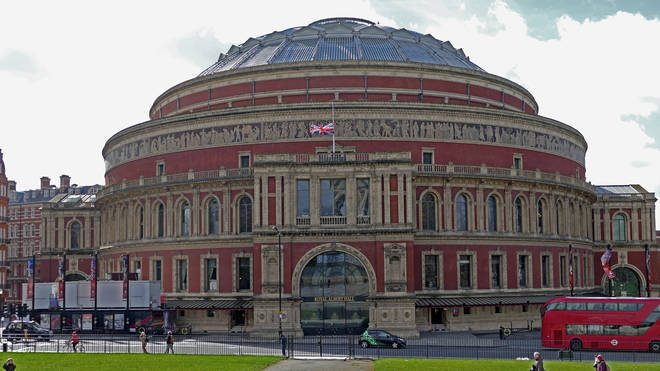 The Royal Albert Hall is among venues to close their doors