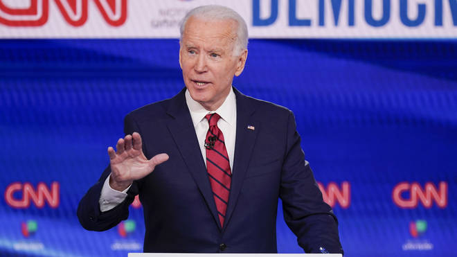 Joe Biden is increasing his lead on Bernie Sanders for the Democrat nomination
