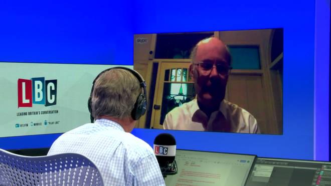 Sir John Curtice speaks to Nigel Farage