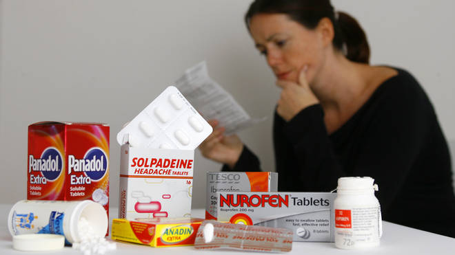 File photo: There has been mixed advice about the safety of taking ibuprofen