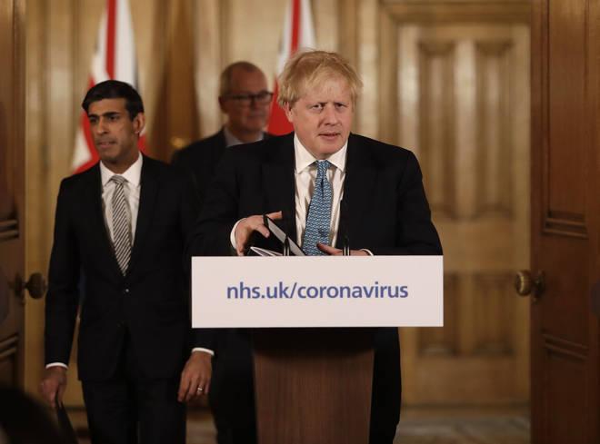 PM's daily coronavirus press conference