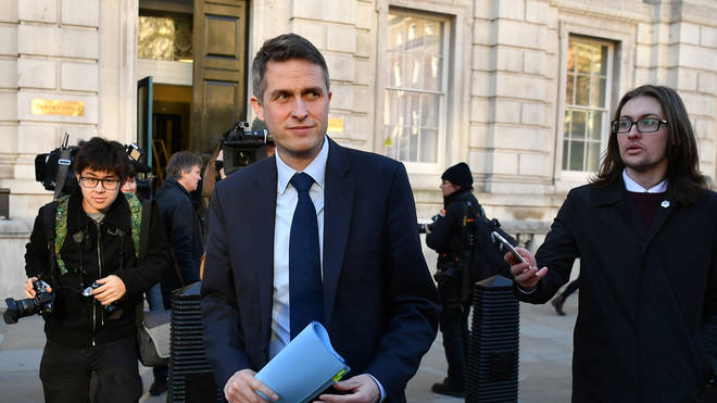 Education Secretary Gavin Williamson has also confirmed the measures
