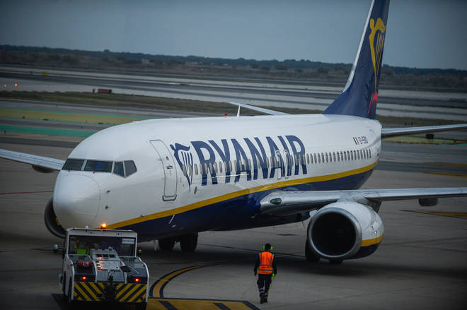 Ryanair has announced it may suspend all flights