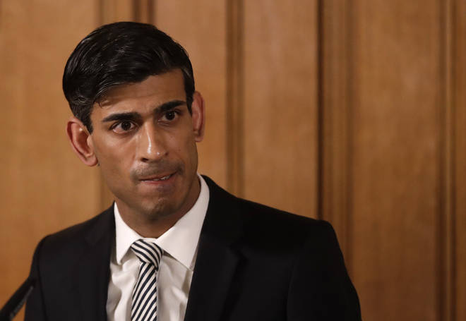 Rishi Sunak announced new financial measures yesterday