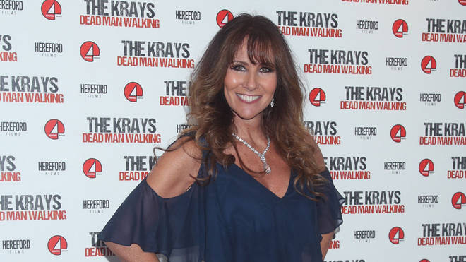 Linda Lusardi has confirmed she's struggling with the COVID-19 symptoms