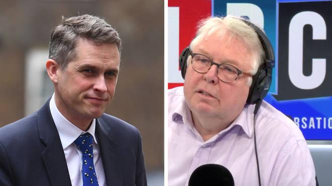 Nick Ferrari grilled Education Secretary Gavin Williamson about school closures