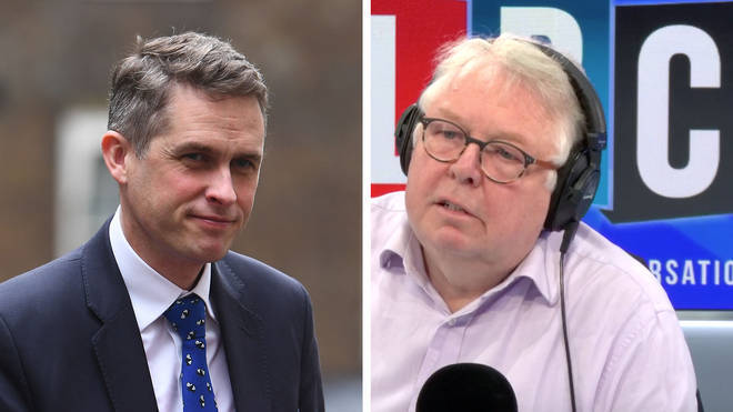 Nick Ferrari grilled Education Secretary Gavin Williamson about school closures