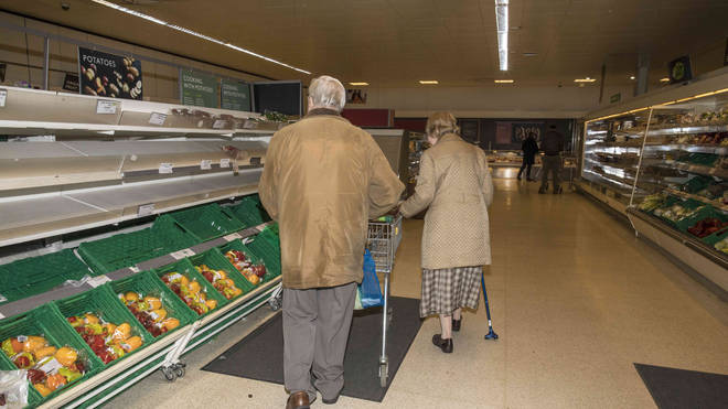 Supermarkets have experienced stock shortages