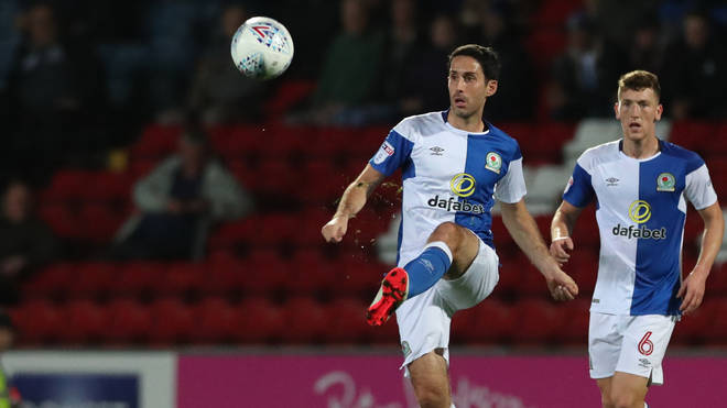 Peter Whittingham during the Sky Bet League One match between Blackburn Rovers and Plymouth Argyle