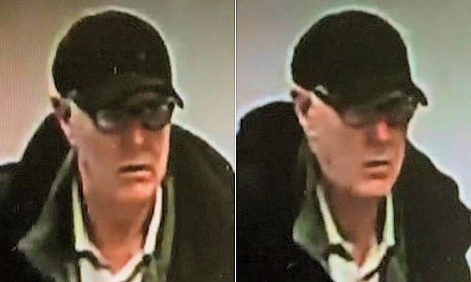 Sussex Police want to identify this man in connection to 15 charity box thefts