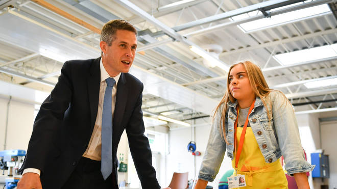 Gavin Williamson introduced the new exam measures on Friday