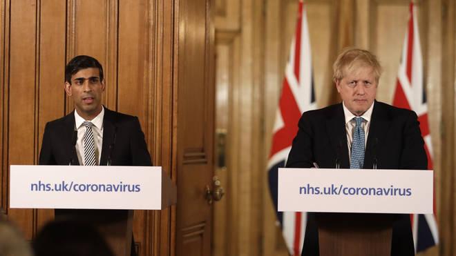 Rishi Sunak and Boris Johnson are due to speak this evening