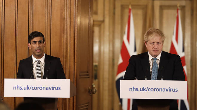 Rishi Sunak and Boris Johnson are due to speak this evening
