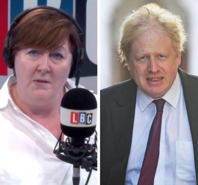 Shelagh Fogarty Boris Johnson