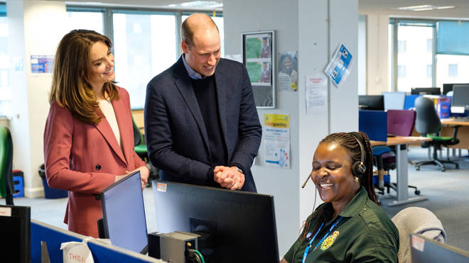 The Duke and Duchess of Cambridge have praised frontline NHS staff