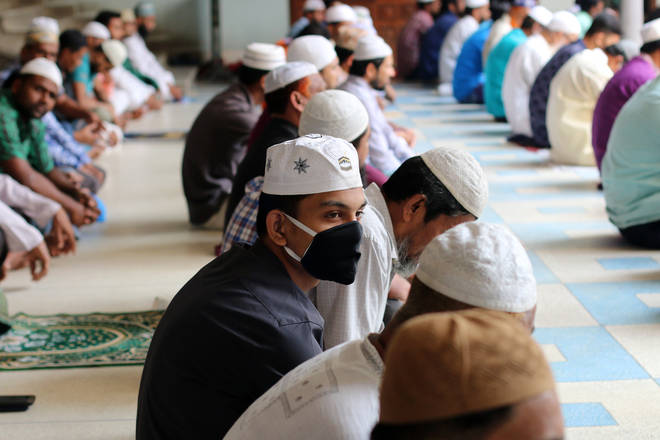 Imams across the UK have told men not to go to the mosque