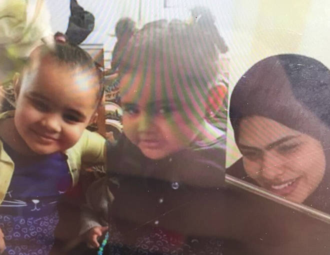 Rania and daughters Fethia and Hania