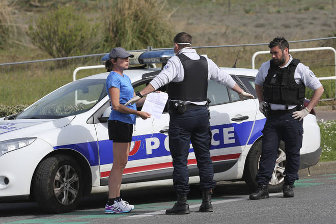 France as started checking joggers
