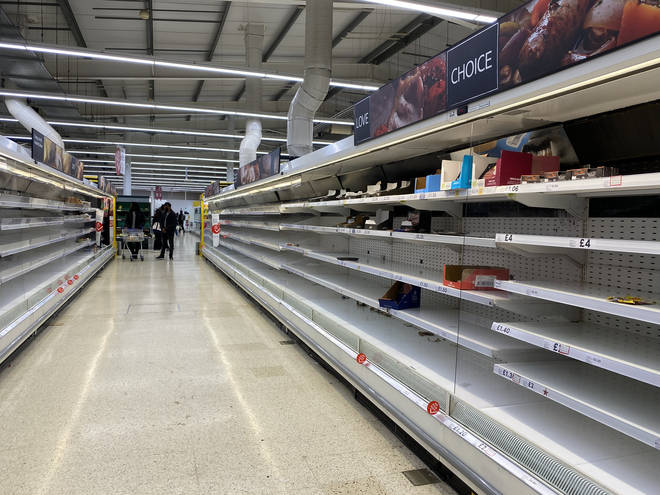 People have been stockpiling across the UK