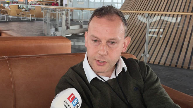 Ukip's new leader in Wales Gareth Bennett spoke to LBC on Monday