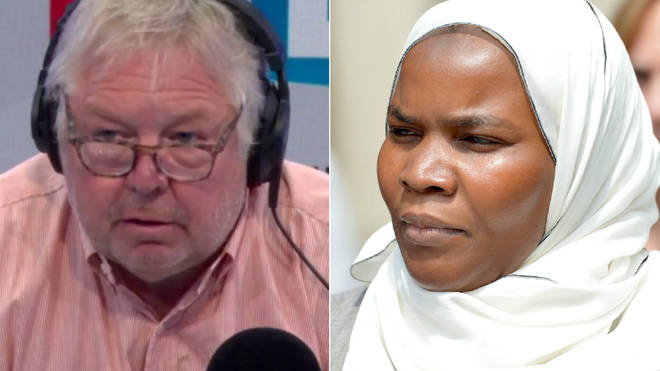 Nick Ferrari was angry at the doctor defending Dr Bawa-Garba