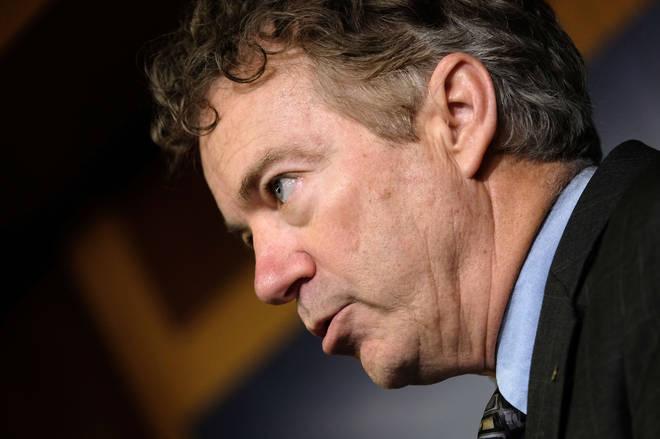 The Kentucky Senator has tested positive