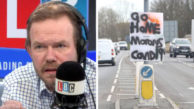 James O'Brien convinced one key worker to obey social distancing guidelines