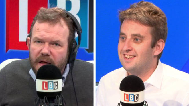James O'Brien had a very emotional call with Theo Usherwood