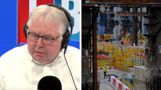 Nick Ferrari heard from a builder, worried about coronavirus