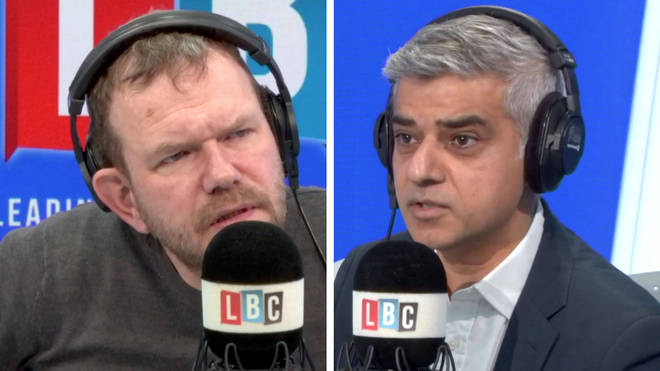 James O'Brien spoke to Sadiq Khan about the Tubes and building sites