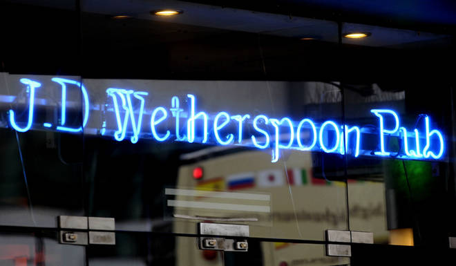Wetherspoons employs more than 40,000 people in the UK