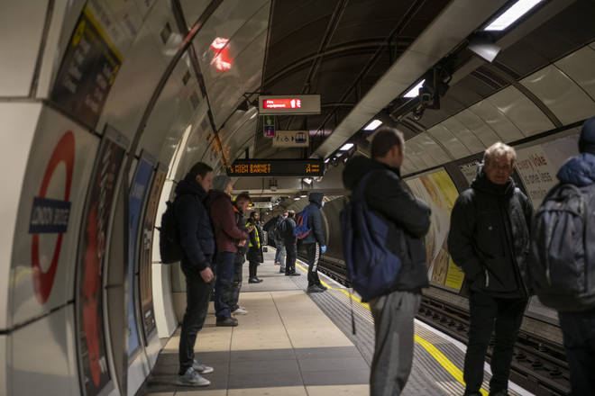"Sadiq Khan has said he ""cannot"" run a full Tube service in London"