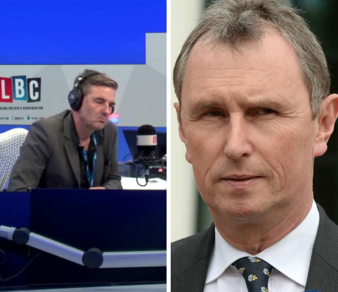 Nigel Evans spoke to Ian Payne on Tuesday