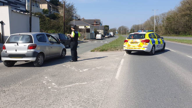 Police are stopping motorists in Cornwall to remind them of the rules