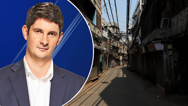 Tom Swarbrick heard how Britons are stranded on the streets of India